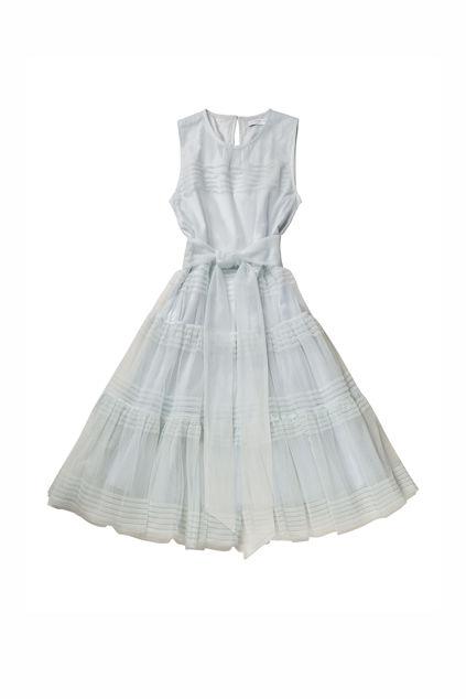 Tulle neroli dress Isblå