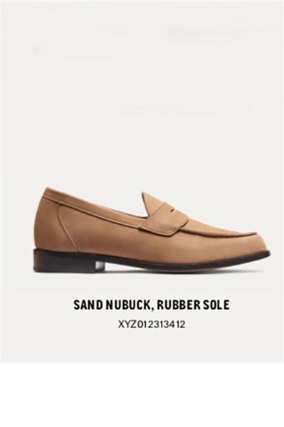 Penny Loafers Brun