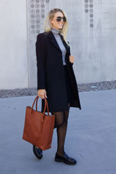 Sasja Wool Coat Sort