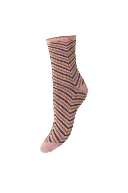 Twisty Darya sock Silver Gray