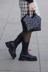 Ulrika Boots m/riller Sort