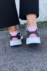 Concrete White Olive Pink