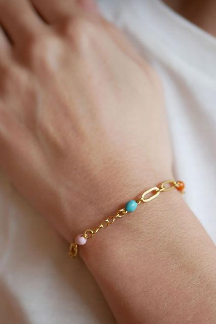 Vigga bracelet Gull