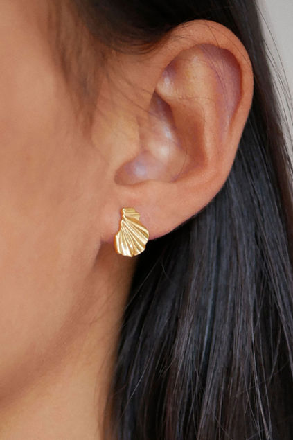 Mini wave earring Gull