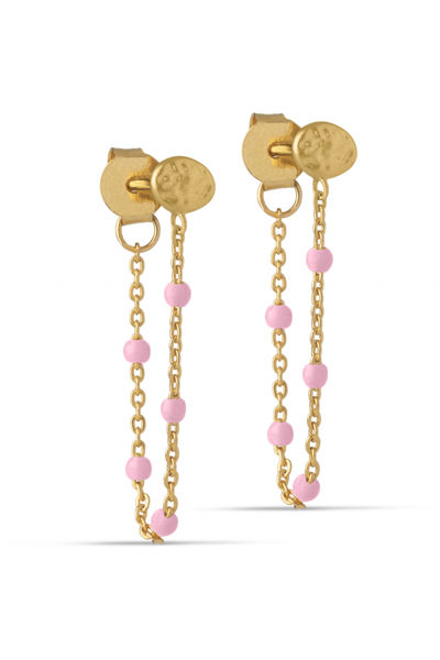 Lola Earring Lys rosa