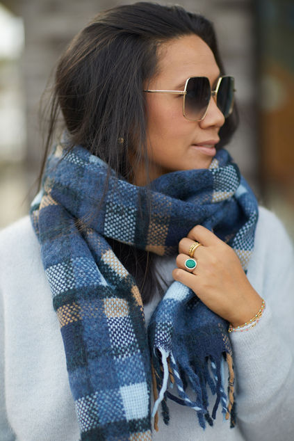 Check Sillian Scarf Night Sky