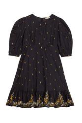Cotton Organza Mini Dress Sort
