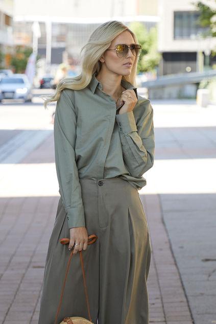 Thelma Shirt Grønn