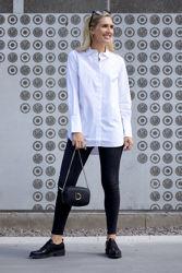 Larkin LS Classic Shirt Hvit