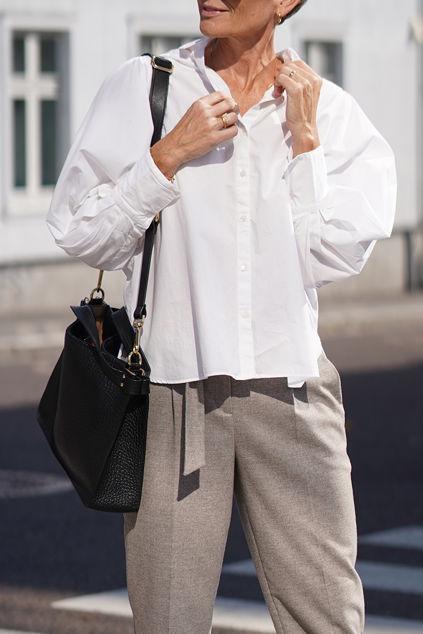 Holly LS Shirt Bright White