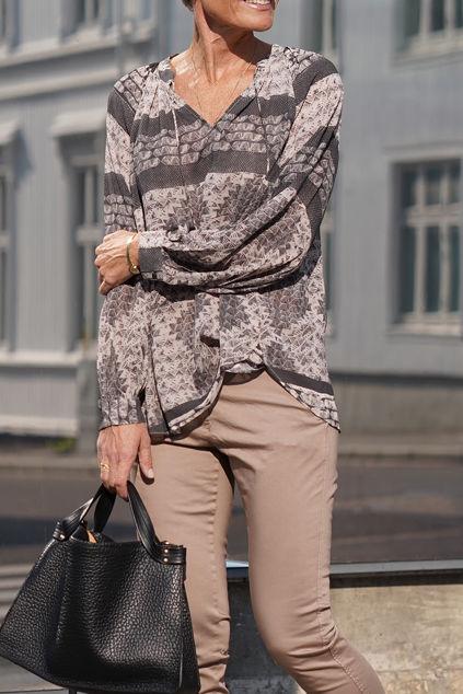 Annsofie Shirt Brun