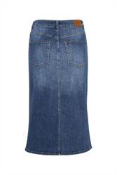 Dilin Skirt Jeansblå