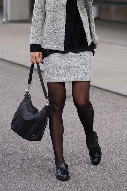 Vianca Skirt Sort/Hvit