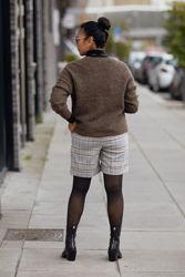 Nouga Shorts Rutet