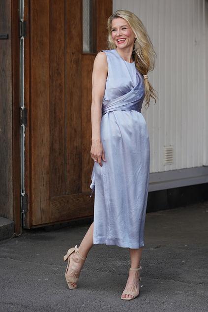 Ysabelle X Dress Shady Blue
