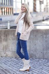 Classic Stockholm Stretch Jeansblå
