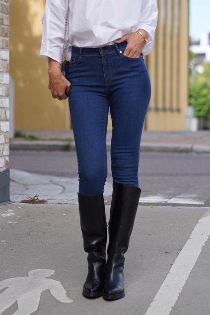 Poline Swan Jeans Blå