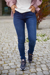 Dylan MW Skinny Wash Prato Denim Blue