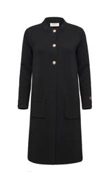 Jules coat Sort