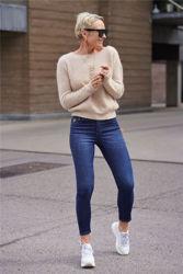 Zabidoo Sweater Beige