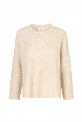 Koorb Knit O-Neck Beige melange