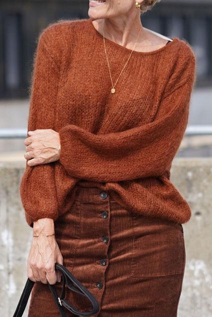 Ally Sweater Rust