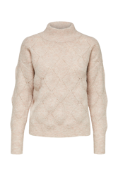 Sif LS Structure Highneck Cameo Rose