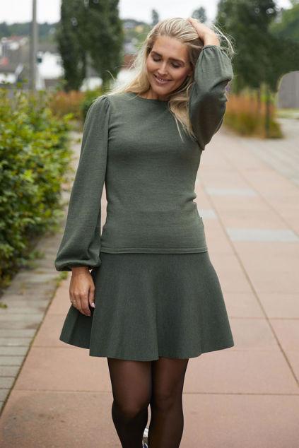 Frida Merino Sweater Grønn