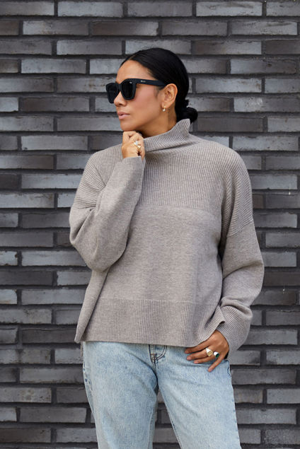 Elly Sweater Sandstone