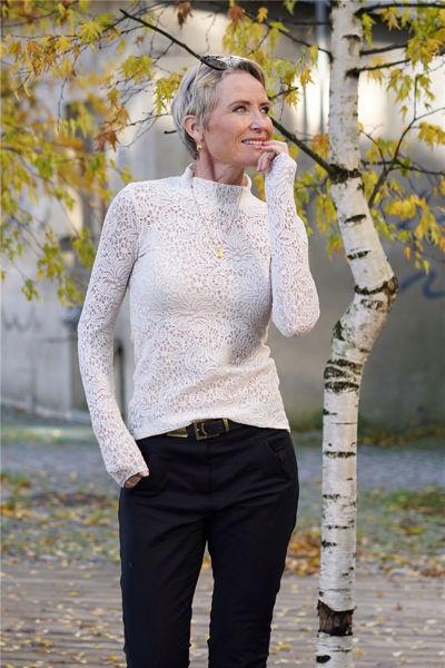 Octava blouse French Nougat