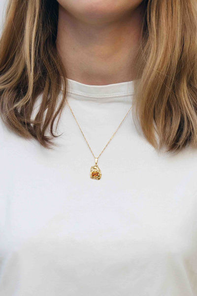 Fusion Single Entity Necklace Gull