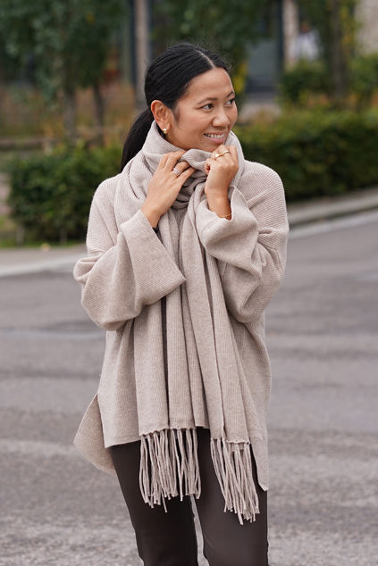 Abella Scarf Winter Beige