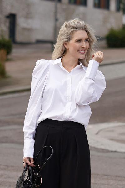 Geya Shirt Pure white