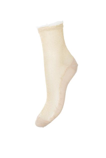 Tullie Sparkle Sock Sandstone