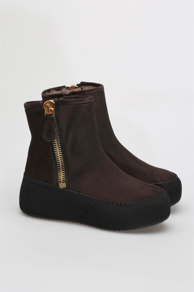 Winter Boots Mørkebrun