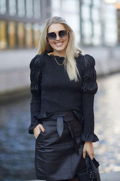 Rosalina blouse Sort