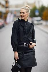 Katja Shirt Sort