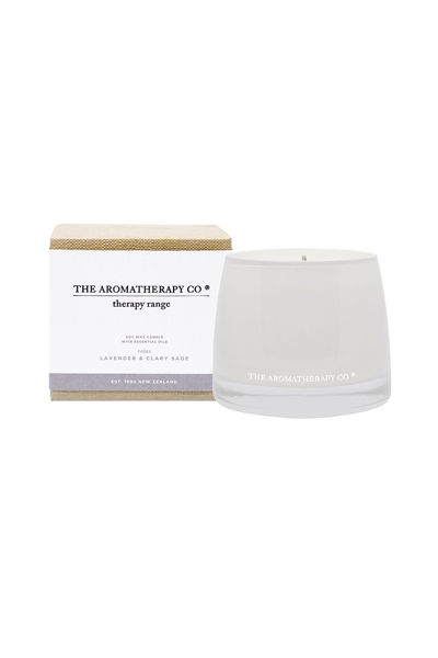 Therapy Candle Relax Lavender & Clary Sage