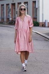 Simone Dress Rosa