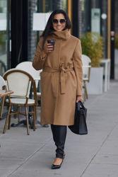 Cori Coat Mørk Kamel