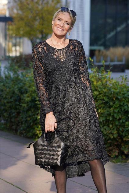 Cynthia LS Midi Dress Sort