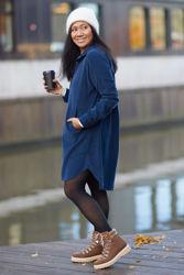 Sira Dress Marineblå