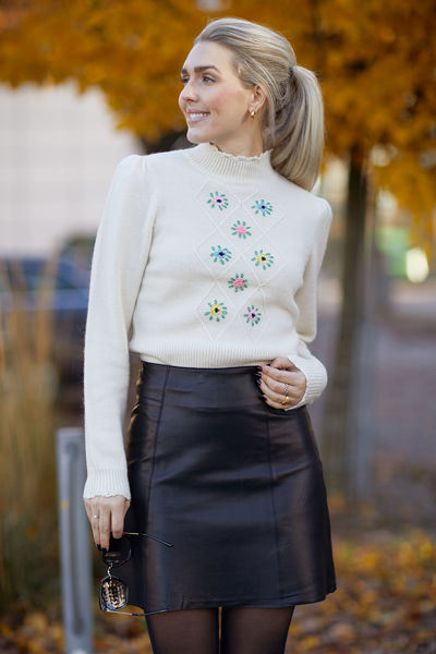 Soft knit turtleneck Offwhite