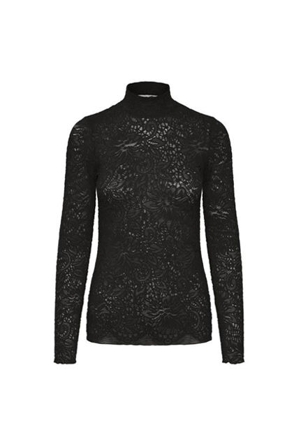 Octava blouse Sort