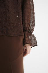 Pakwa Blouse Coffee Brown