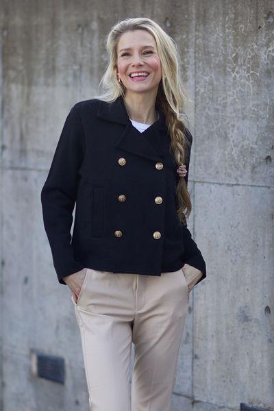 Indra jacket Sort