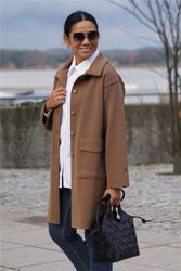 Riva coat Brun