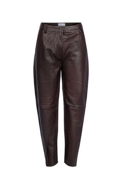 Noa Leather Pant Espresso