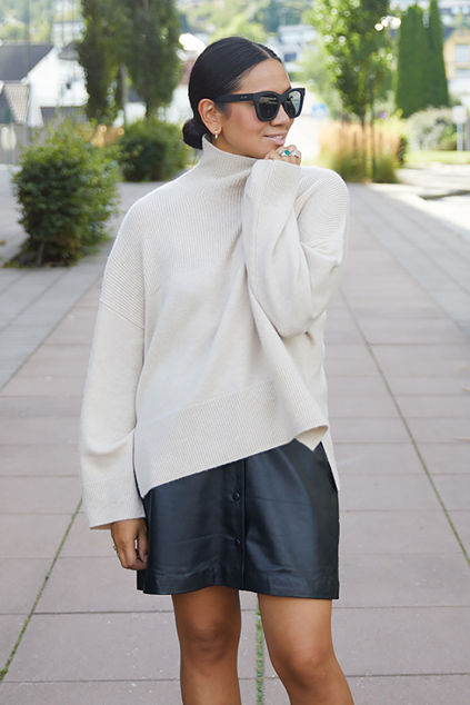 Elly Sweater Lys beige