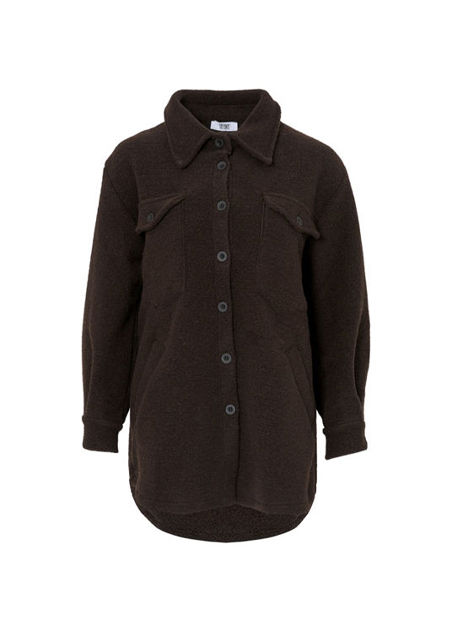 Valley Short Coat Mørkebrun